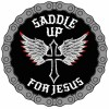 Official Motorcycle Patch Saddle Up For Jesus