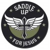 Military Patch - Saddle Up For Jesus